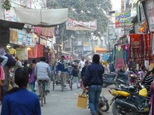 Bazaar in Bhiwani