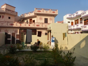 Mr. Preet Singh's courtyard