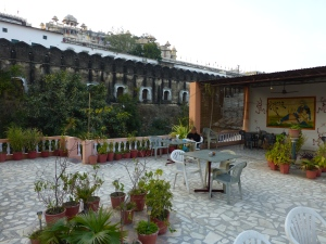 Our guesthouse terrace