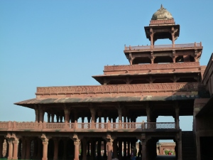 The palace at Fatehpur Sikri