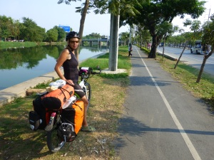 A bike path for a few kilometers
