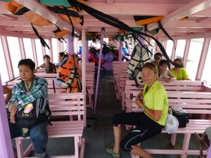 On the boat to Ko Samet