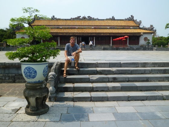 At the imperial city