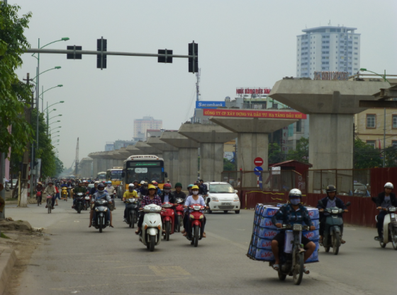 Traffic in Hanoi, not too bad, right?