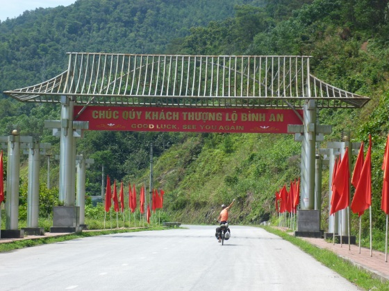 Leaving Ha Giang