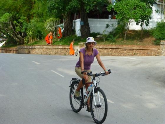 Sightseeing in Louang Prabang