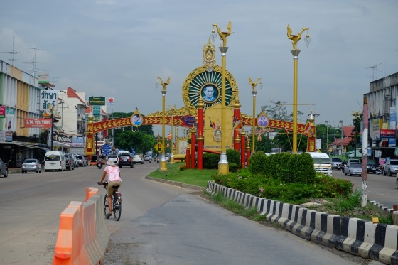 Cycling in Ayutthaya