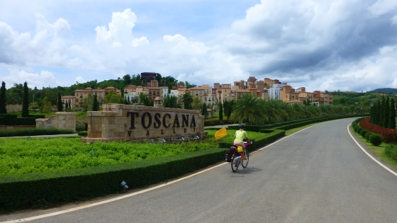 ...but it's set in stone, Tuscany exists in Thailand.