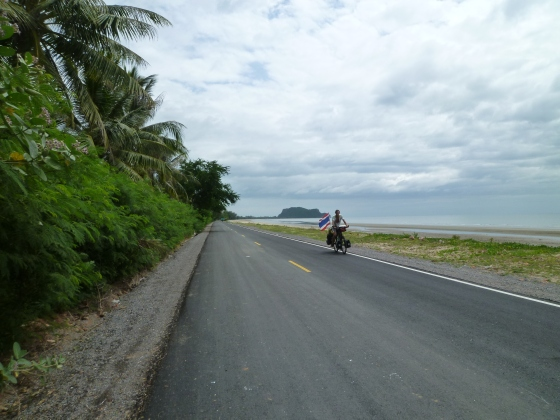 A beautiful coastal road just for us
