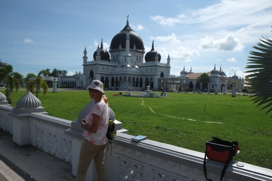 The beautiful mosque in Alor Setar