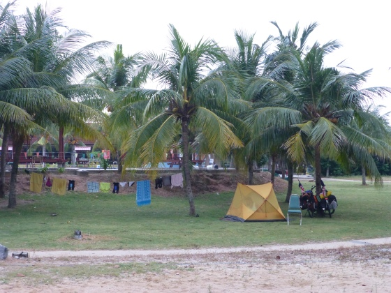 Our beach resort camp