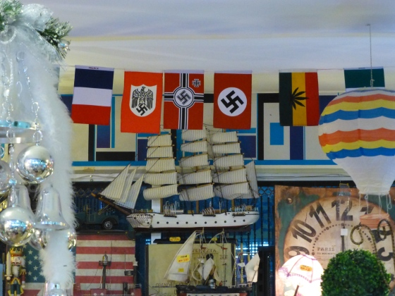 Shocked about what kind of flags you can buy in a normal shopping center