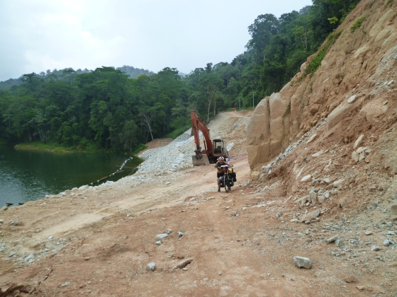 Landslide still pushable alone