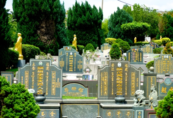 The largest cemetery in Southeast Asia