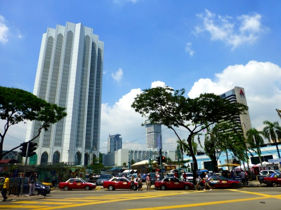Part of KL's skyline