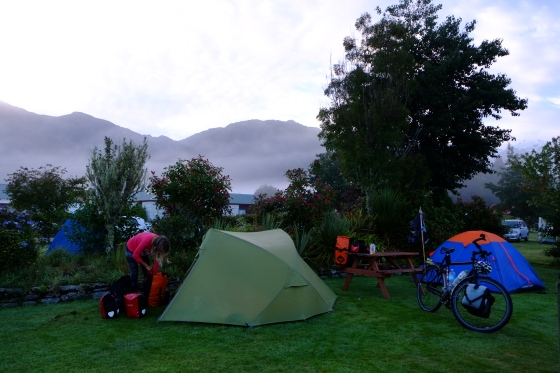 Morning mood at Franz Josef