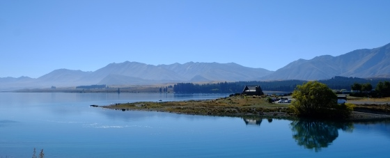 Most photographed church at Lake Tekapo