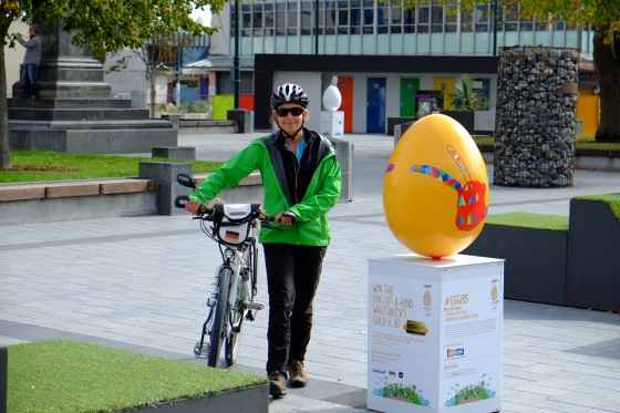 Egg hunt at Christchurch