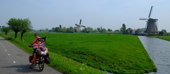 …the famous Dutch windmills….