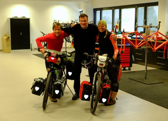 With Gerrit Gaastra, who is producing our wonderful Idworx bikes