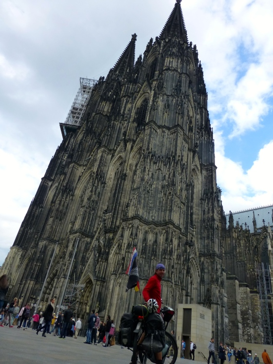 The grandiose Cologne cathedral