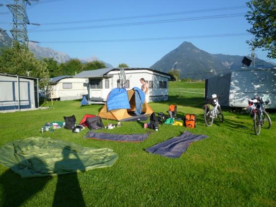 Campsite in Austria